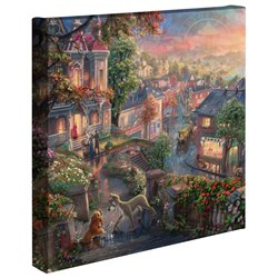 Thomas Kinkade - Lady & the Tramp