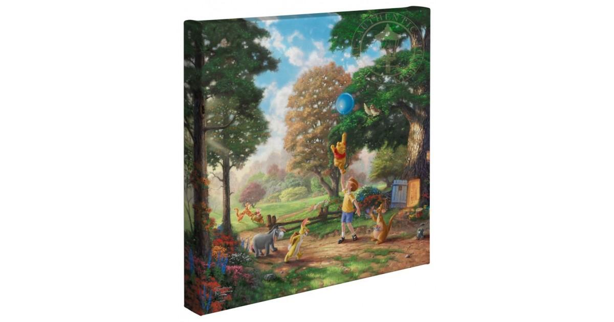 Thomas Kinkade Up to the Honeytree - Pooh & Co