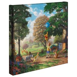 Thomas Kinkade Up to the Honeytree - Pooh & Co