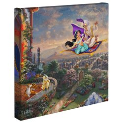 Thomas Kinkade Canvas - Aladdin