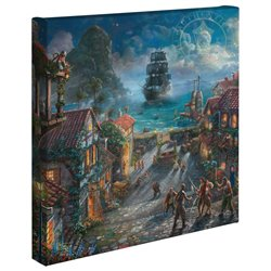 Thomas Kinkade - Pirates of the Caribbean