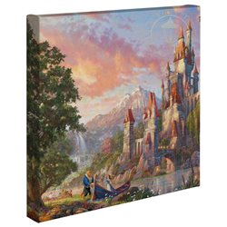 Thomas Kinkade - Beauty & the Beast