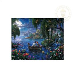 Thomas Kinkade Kiss the Girl - Little Mermaid
