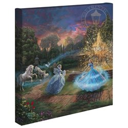 Thomas Kinkade Wishes Granted - Cinderella