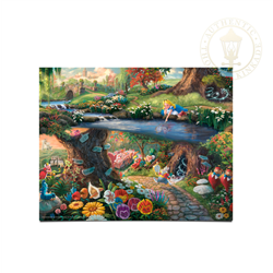 Thomas Kinkade - Alice in Wonderland