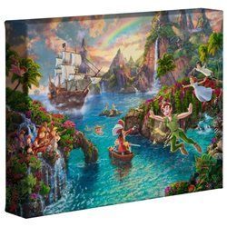 Thomas Kinkade Neverland - Peter Pan