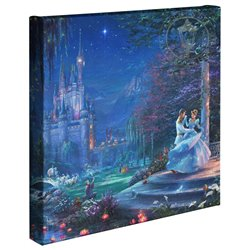 Thomas Kinkade Dancing in the Starlight - Cinderella