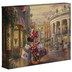 Thomas Kinkade Rock the Dots - Minnie