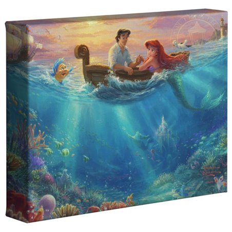 Thomas Kinkade  Falling in Love - Little Mermaid