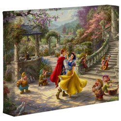 Thomas Kinkade Dancing in the Sunlight - Snow White