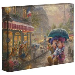 Thomas Kinkade Paris - Micket & Minnie