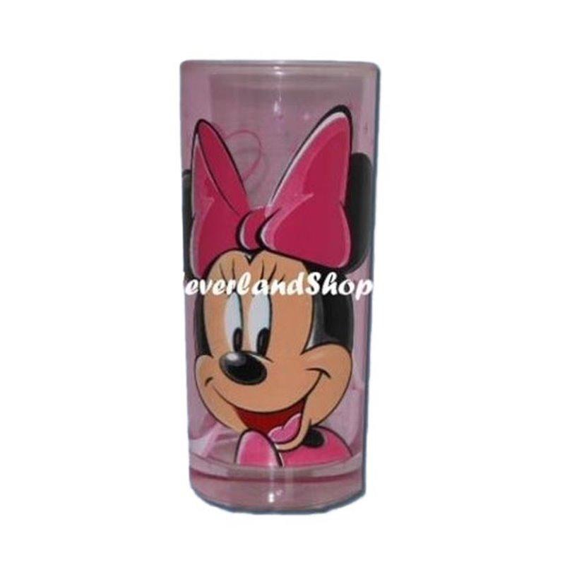 Longdrink Glas Roze - Minnie