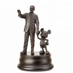 Partners Pewter - Walt & Mickey