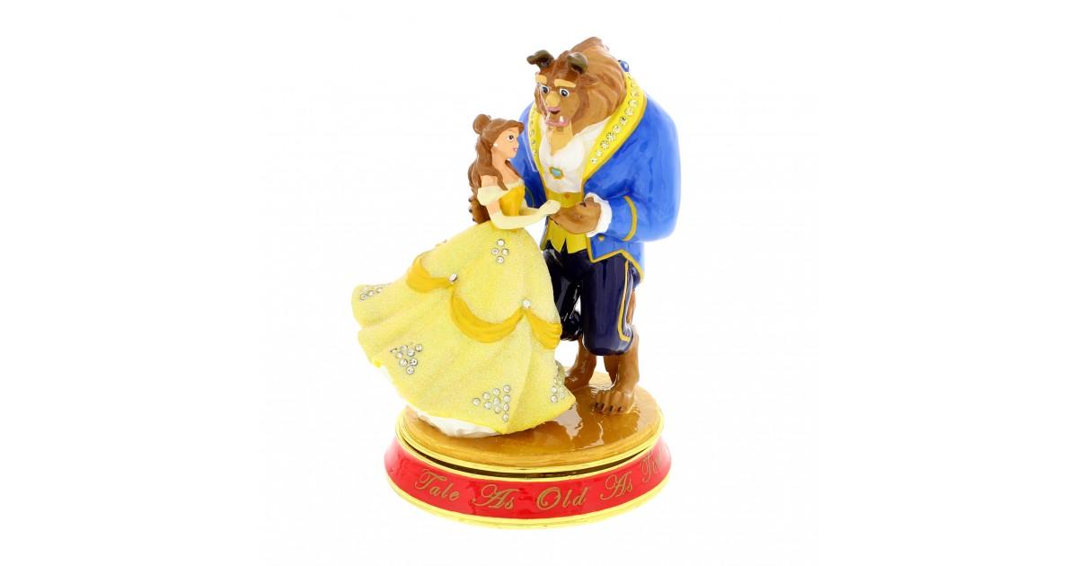 Classic Trinket Box - Beauty & The Beast