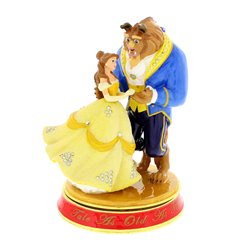 Classic Trinket Box - Beauty & The Beast