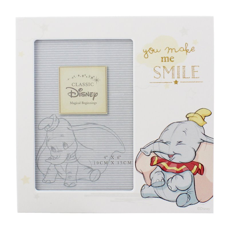 "Magical Beginnings Frame 4"" x 6"" Smile - Dumbo"