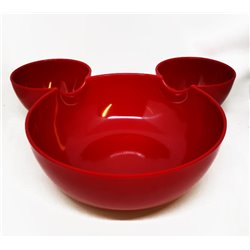Grote Schaal Rood - Mickey