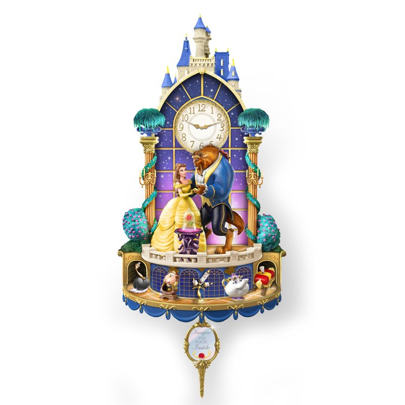 Wall Clock - Beauty & the Beast