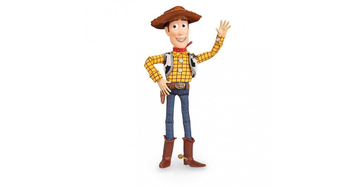 DisneyStore Plush 40cm Praat - ToyStory - Woody