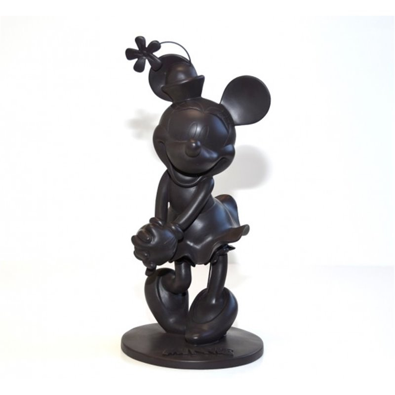 Mid figuur Tinlook zwart tuinbeeld - Minnie
