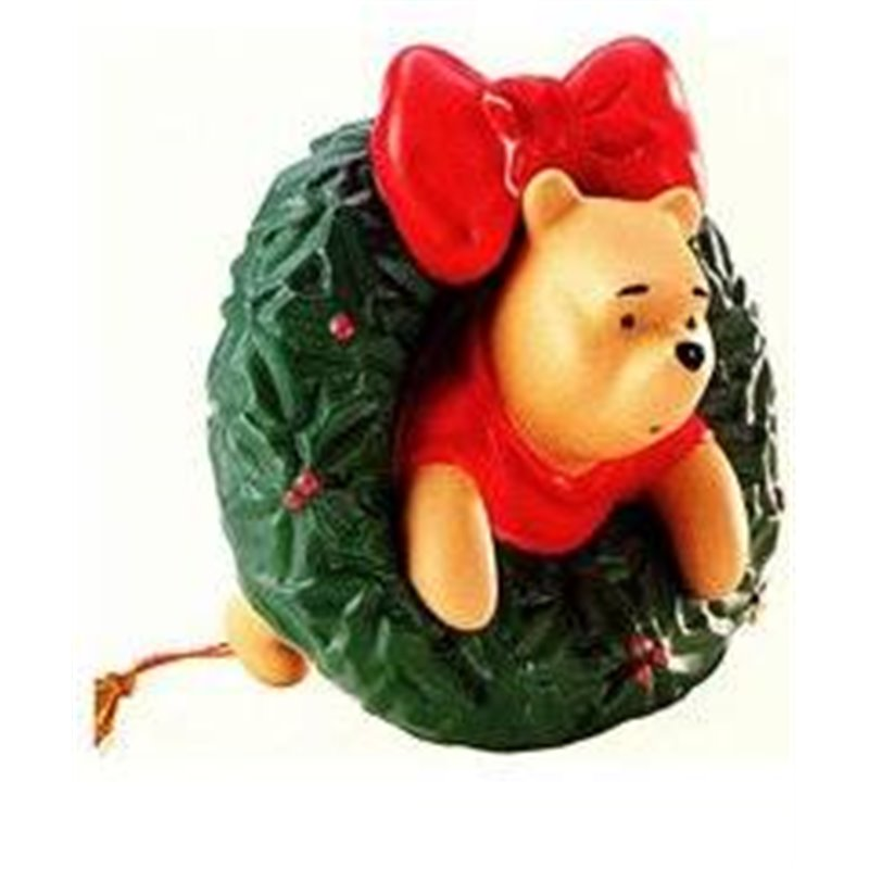 Wreath of Wishes Ornament - Pooh