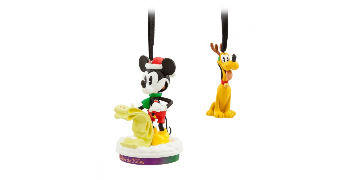 2Dlg Ornament Set Limited Edition - Mickey & Pluto