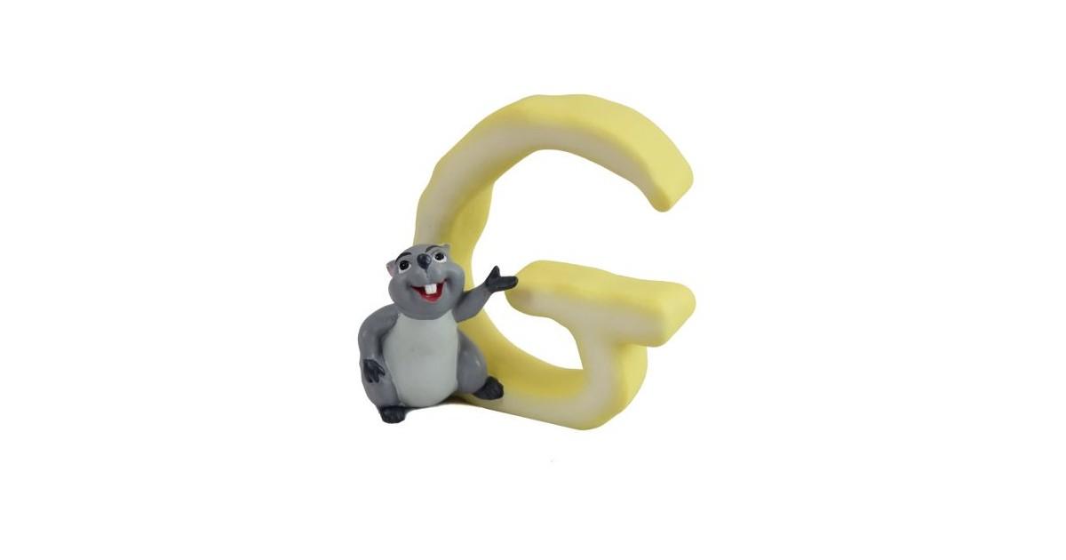 Magnetisch Alfabet Letter G - Gopher