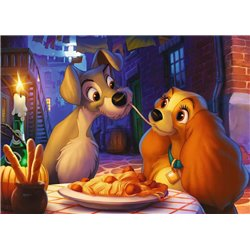 Puzzel 1000 Stuks Collectors Edition - Lady & the Tramp