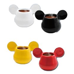 Full Color 2Dlg Set 3D Espressomugs - Mickey