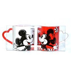 Set van 2 Mokken True Love - Mickey & Minnie