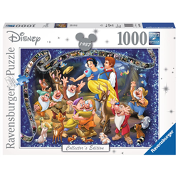 Puzzel 1000 Stuks Collectors Edition - Snow White & the 7 Dwarfs