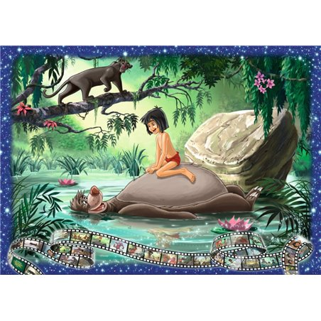 Puzzel 1000 Stuks Collectors Edition - Jungle Book