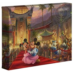 Thomas Kinkade Hollywood - Mickey & Minnie