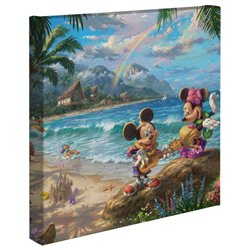 Thomas Kinkade in Hawaii - Mickey & Minnie