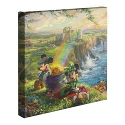 Thomas Kinkade in Ireland - Mickey & Minnie
