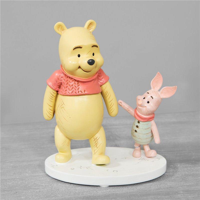 Christopher Robins Let's Wander Together - Pooh & Piglet