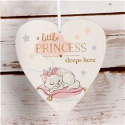 Magical Beginnings Heart Plaque Little Princess - Marie