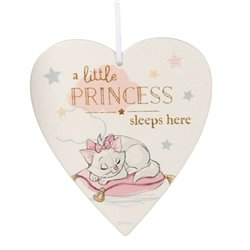 Magical Beginnings Heart Plaque Little Princess - Marie