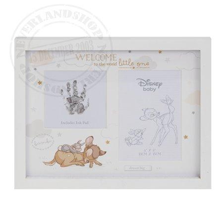 Magical Beginnings Photo & Hand Print Frame - Bambi