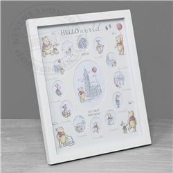 Christopher Robin Frame My 1st Year - Pooh & Piglet