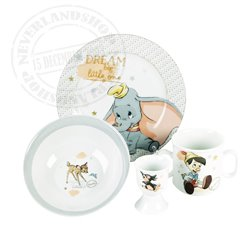 Magical Beginnings 5 Piece Melamine Crockery Set - Disney Classics