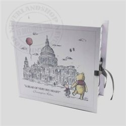 Christopher Robin Paperwrap Keepsake Box - Pooh
