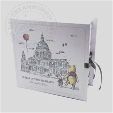 Christopher Robin Paperwrap Keepsake Box - Pooh
