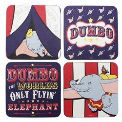 Set van 4 Onderzetters - Dumbo