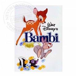 Metal Magnet - Bambi