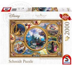 Thomas Kinkade Puzzel - Disney