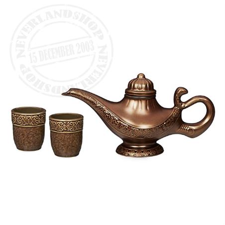 3dlg Tea Set - Aladdin