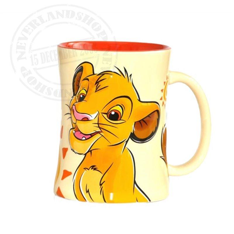 Zandloper Mok Geel - Simba