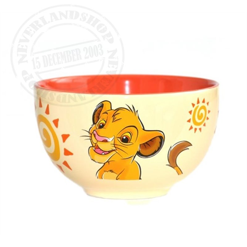 Bowl Geel - Simba