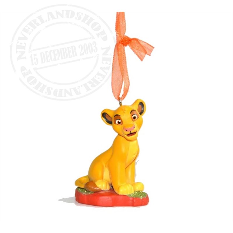 8912 3D Dangle Ornament - Simba